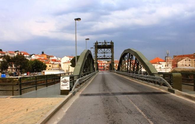 Trânsito condicionado na Ponte Metálica de Alcácer do Sal a partir de 13 de julho