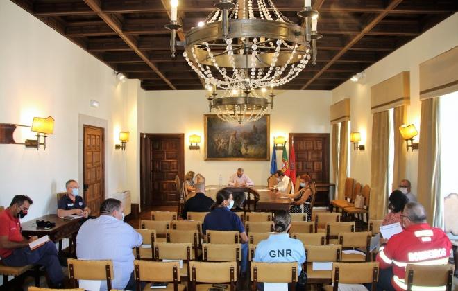 Comissão Municipal de Emergência e Proteção Civil de Alcácer do Sal reuniu nesta quinta-feira