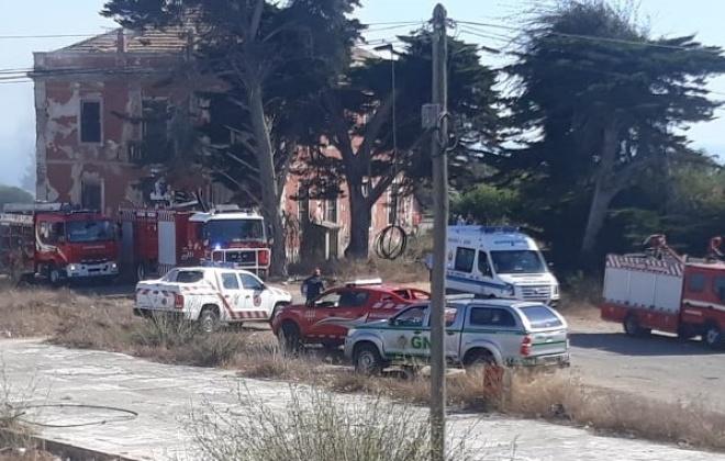 Incêndio provoca danos materiais no Palácio de Santa Isabel, em Sines
