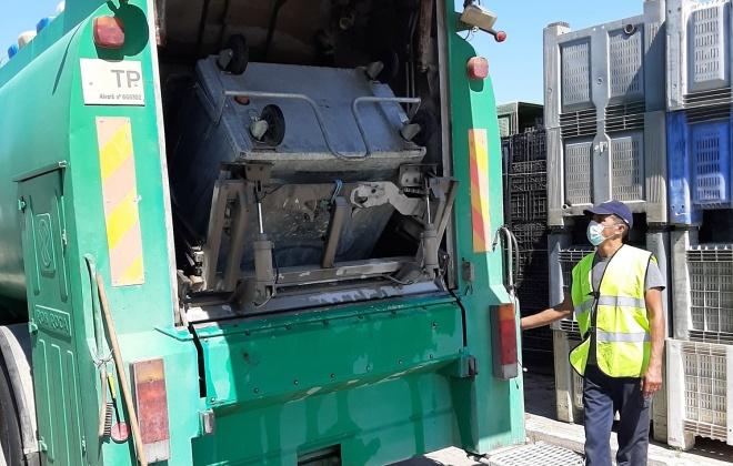 Município de Alcácer do Sal avança com higienização de contentores de resíduos sólidos urbanos
