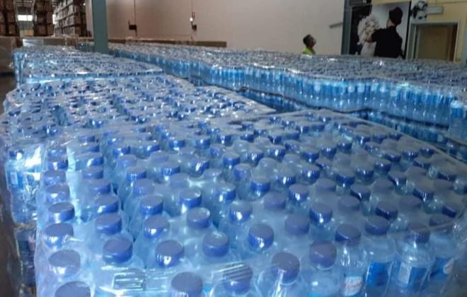 Bombeiros do distrito de Setúbal recebem 72 mil garrafas de água