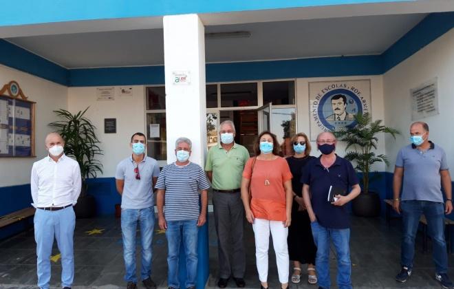 Partido Socialista visita escolas do concelho de Santiago do Cacém