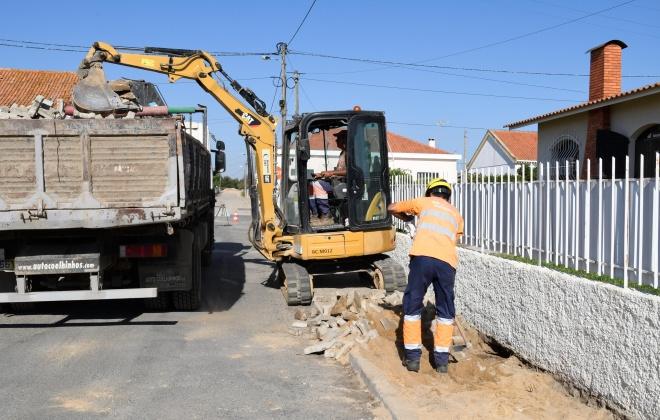 Santiago do Cacém avança com obras na rede de distribuição de água de Ermidas