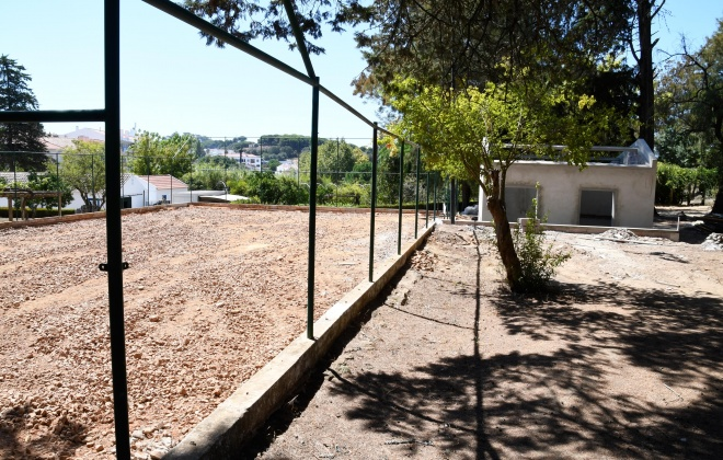Parque Urbano do Rio da Figueira em Santiago do Cacém decorrem trabalhos de requalificação