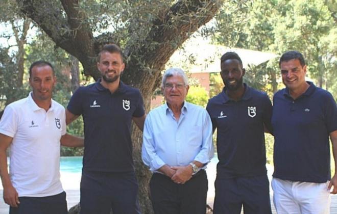 António Figueira Mendes almoçou hoje com a equipa do Belenenses SAD em Grândola