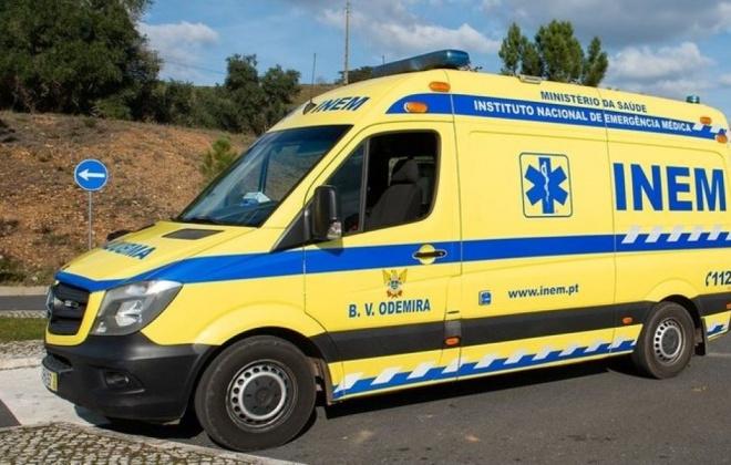 Despiste provoca dois feridos ligeiros em Odemira