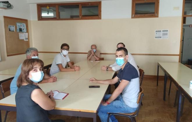 Partido Socialista de Santiago do Cacém visitou as escolas do concelho