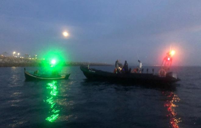 Estação Salva-vidas de Sines presta auxílio a praticante de pesca submarina