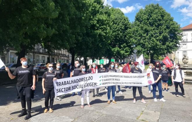 Trabalhadores das Santas Casas de Misericórdia em greve esta quinta-feira
