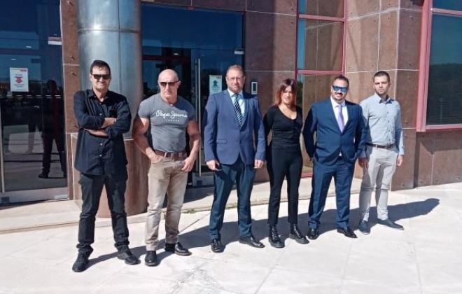 Partido Chega visitou ontem o Porto de Sines