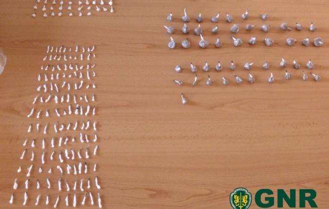 Homem foi detido em Sines com quase 2 mil doses de droga