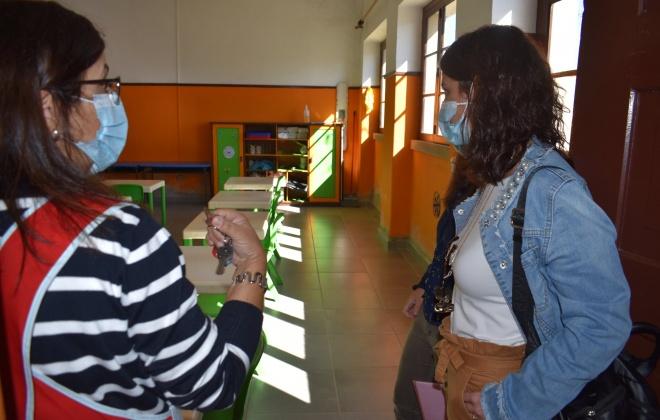 Município e Centro de Saúde Aljustrel visitam escolas  no âmbito da prevenção para a Covid-19