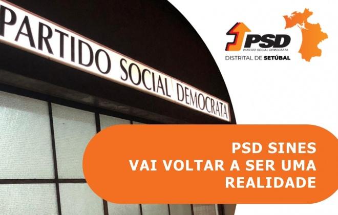 Distrital do PSD relança concelhia de Sines (com áudio)