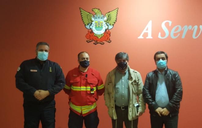 Elísio Oliveira reuniu com a direção da A.H.B. Voluntários de Sines