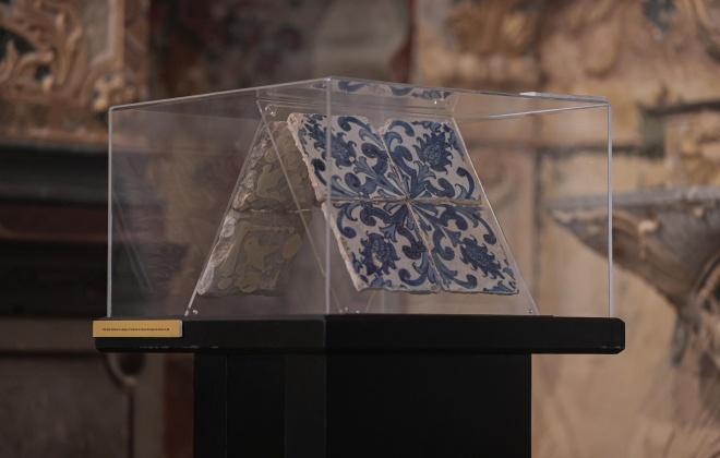 Exposição de azulejaria do Séc. XVII está patente em Alcácer do Sal