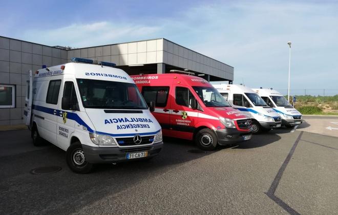 Despiste provoca quatro feridos na Aldeia da Justa, em Grândola