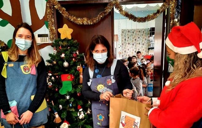 Alvalade oferece prendas de Natal às crianças da freguesia