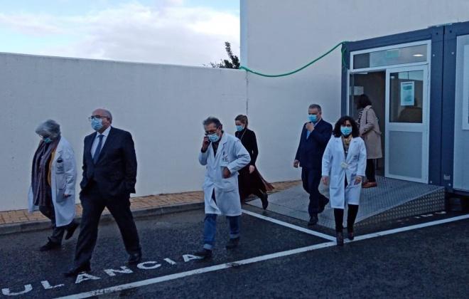 Hospital do Litoral Alentejano vacinou hoje os primeiros 60 profissionais