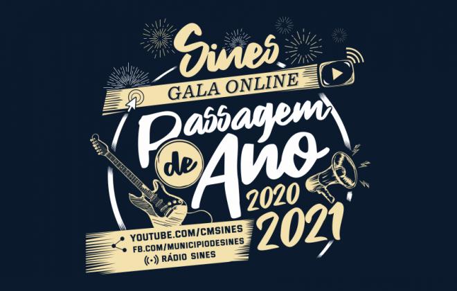 """Reveja a gala online de Passagem de ano 2020/2021 - """"Que afastados estejamos mais juntos"""""""