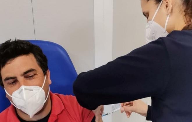 48 bombeiros receberam a segunda dose da vacina contra a Covid-19