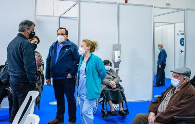 Vacinação contra a COVID-19 decorreu ontem em São Teotónio
