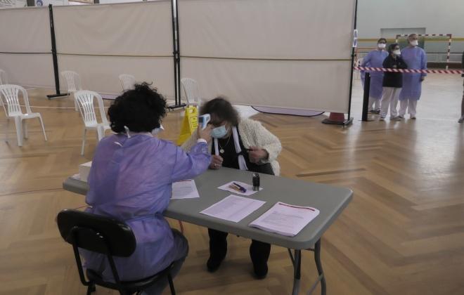 Vacinação contra a Covid-19 começou em Sines