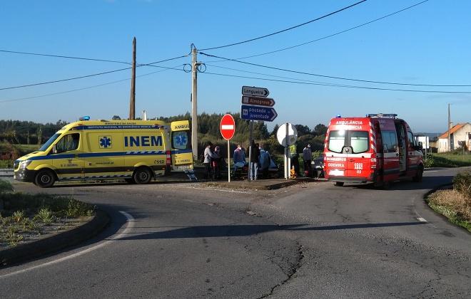 Colisão provoca dois feridos em Almograve, Odemira