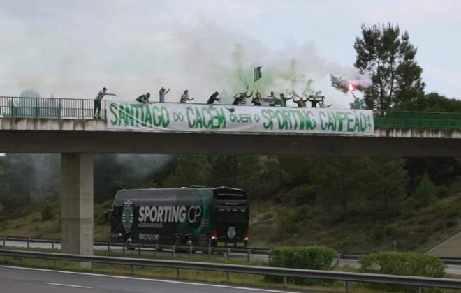 Santiago do Cacém apoiou o Sporting na viagem para Faro