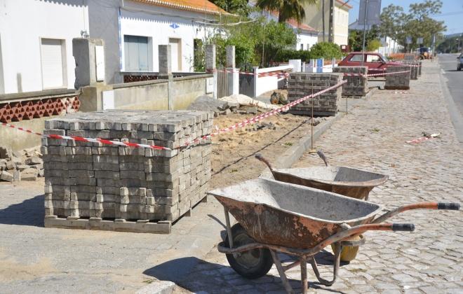 Câmara de Santiago realiza obras em Deixa-o-Resto