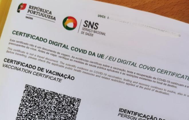 Covid-19: Certificado digital ou teste negativo obrigatório nos hotéis e alojamento local