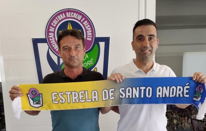 Paulo Silva é o novo treinador do Estrela de Santo André