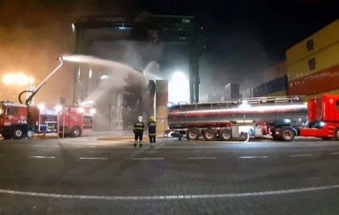 Sindicato XXI exige saber o que causou o incêndio de ontem na PSA Sines