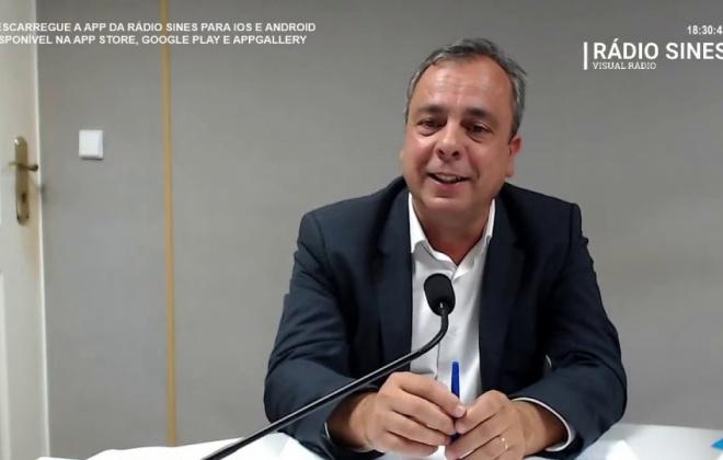 """Nuno Mascarenhas  """"não contava"""" com inclusão de Sines na lista dos 121 concelhos de risco"""