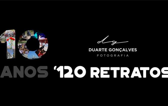 Duarte Gonçalves comemora 10 anos de fotografias com livro e exposição