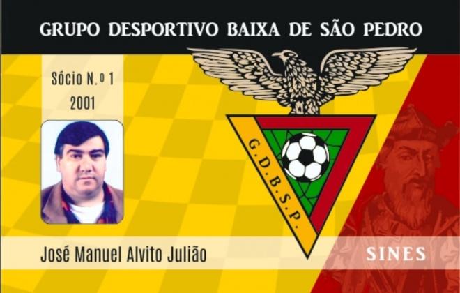 Grupo Desportivo Baixa de São Pedro perde o sócio n.º1