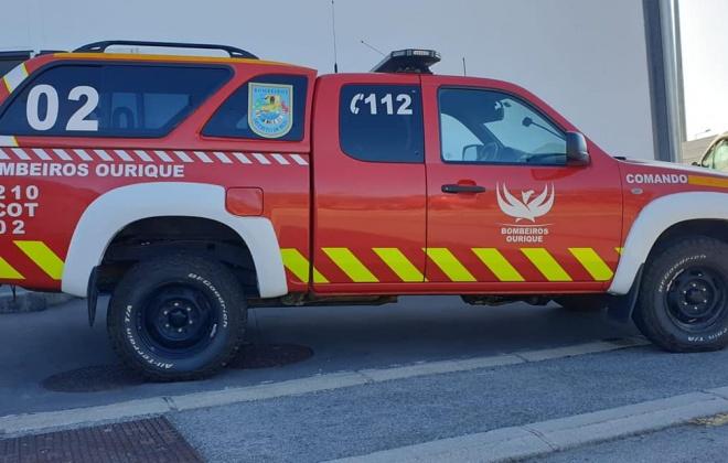 Incêndio em garagem provoca danos na habitação e faz três desalojados em Ourique