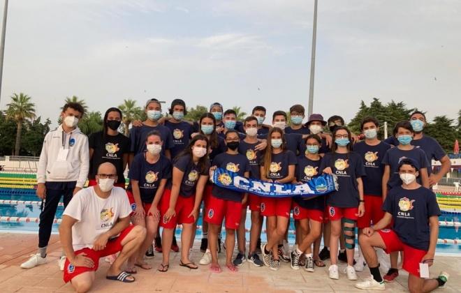 Resultados do Clube de Natação do Litoral Alentejano (CNLA)